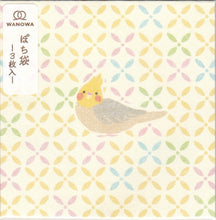 Sets of 3 Bird Mini Envelopes Square Cockatiel Budgie Budgerigar Parakeet 1359001