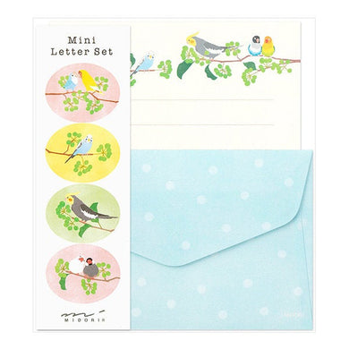 Bird Mini Letter Set Lovebird Budgie Budgerigar Parakeet Cockatiel Java Sparrow Finch 91802611 - Boutique SWEET BIRDIE