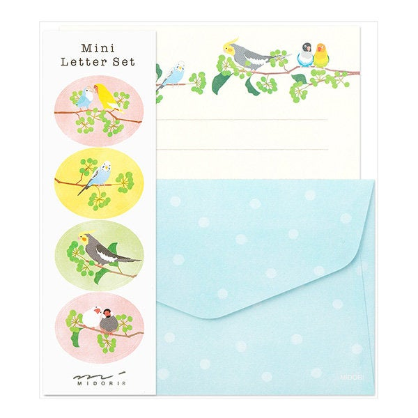 Bird Mini Letter Set Lovebird Budgie Budgerigar Parakeet Cockatiel Java Sparrow Finch 91802611