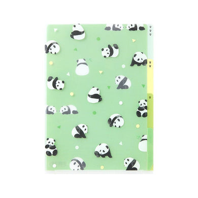 Panda A5 File Folder Organizer with 3 Pockets (35358-006) - Boutique SWEET BIRDIE