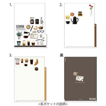 Coffee A5 File Folder Organizer with 3 Pockets (35359-006) - Boutique SWEET BIRDIE
