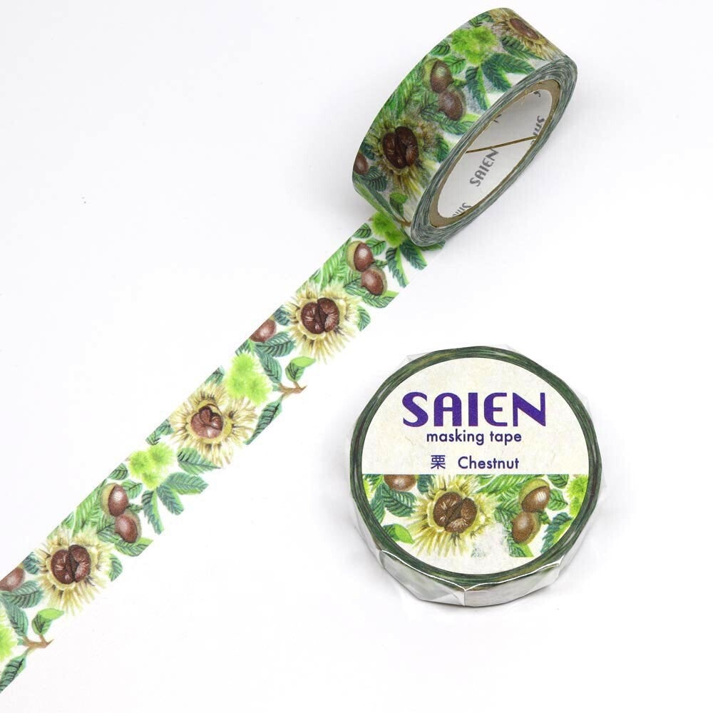 Chestnut Japanese Washi Tape Masking Tape TR-0086 - Boutique SWEET BIRDIE