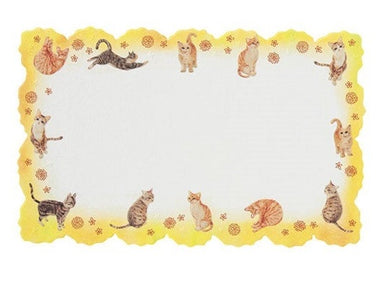 Sets of 12 Cat Mini Message Card