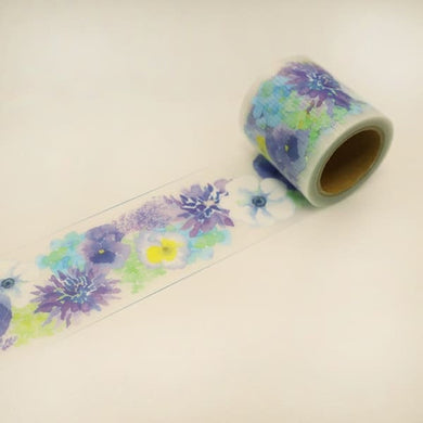 Flower Yojo Tape Removable Tape Packing Tape Decoration Tape Wide Tape - Boutique SWEET BIRDIE