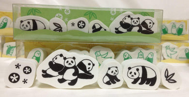 Panda Rubber Stamp Set - Boutique SWEET BIRDIE