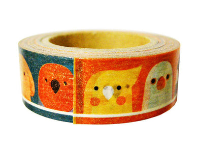 Bird Japanese Washi tape Cockatiel Java Sparrow Canary Galah Owl Budgie Budgerigar Parakeet Moluccan Cockatoo Eclectus Parrot Yellow-crested Cockatoo Pacific Parrotlet Tree Sparrow Lovebird - Boutique SWEET BIRDIE
