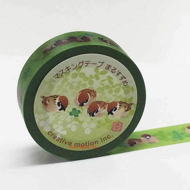 Sparrow Japanese Washi Tape Masking Tape Paper Tape - Boutique SWEET BIRDIE