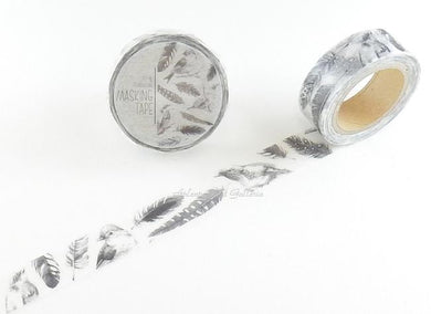 Bird Feather Japanese Washi Tape Masking Tape MiriKulo:rer  MI-MK-003 - Boutique SWEET BIRDIE