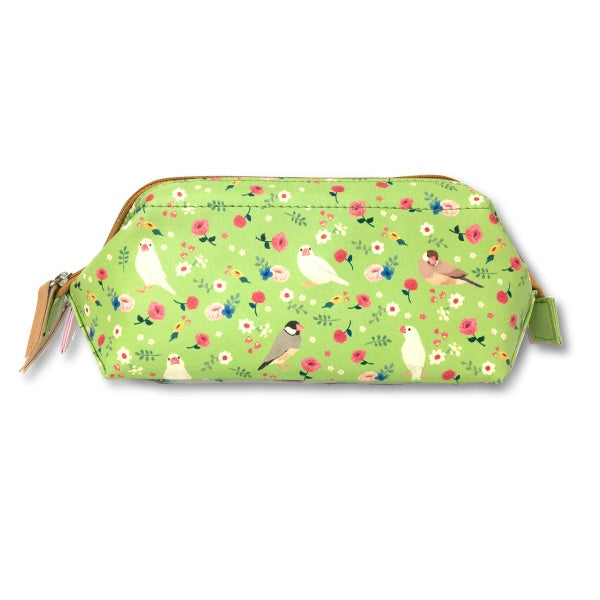 Java Sparrow Finch Purse Pouch