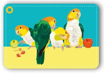 White-Bellied Caique Pass Holder