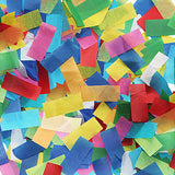 Multi-Coloured Confetti Cannon