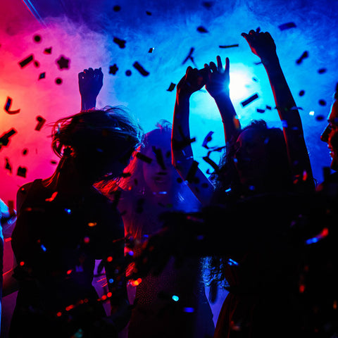 DJ/Performer Handheld Confetti Cannons