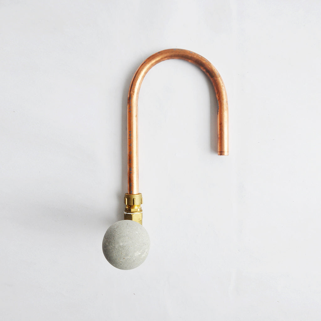 Sphere Concrete & Copper Tap (Type 3)