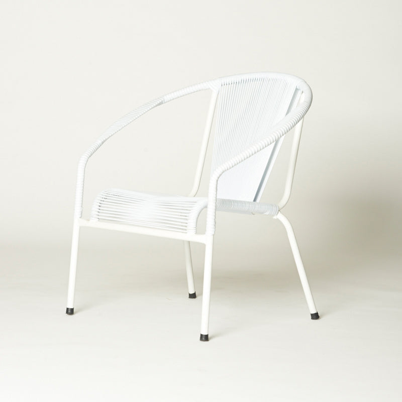 Shell Chair Lounge (White)