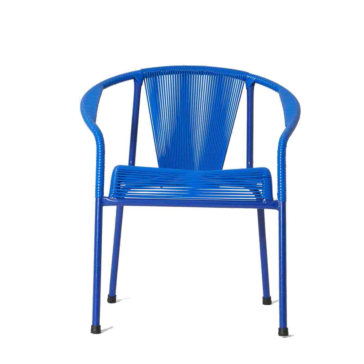Shell Chair Dining (Blue)