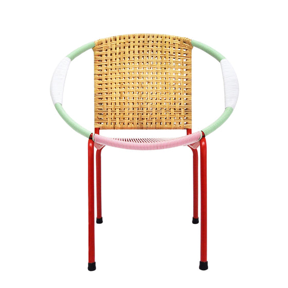 Merdeka Chair Lounge Tropicalia 2016 (MIX - Red)