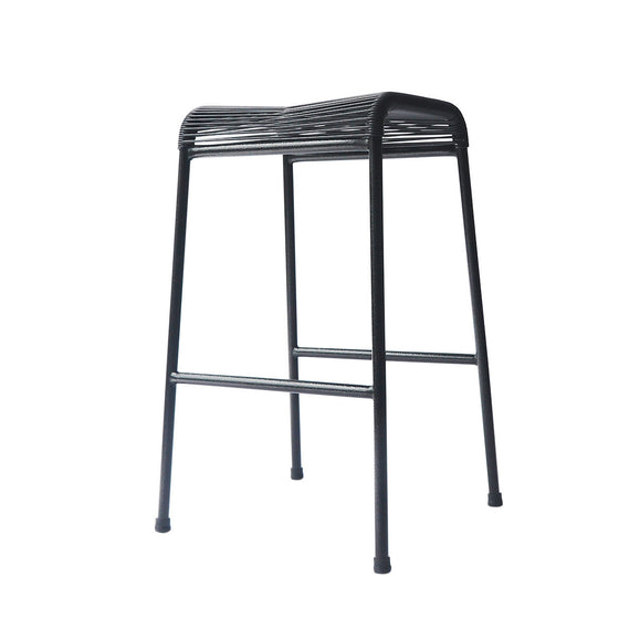 String Stool 01 (Bar Height) (Black 01)