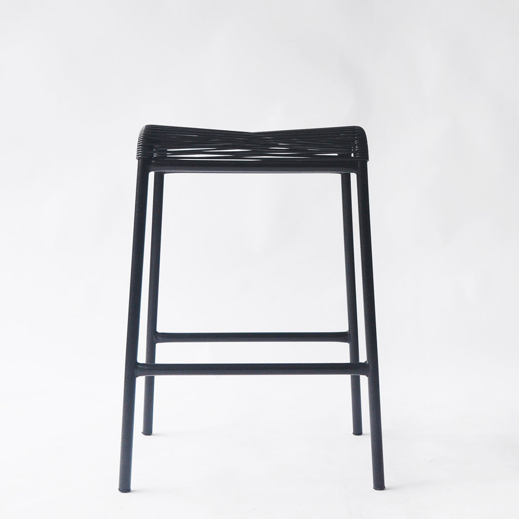 String Stool 02 (Counter Height) (MONO - Black 01)