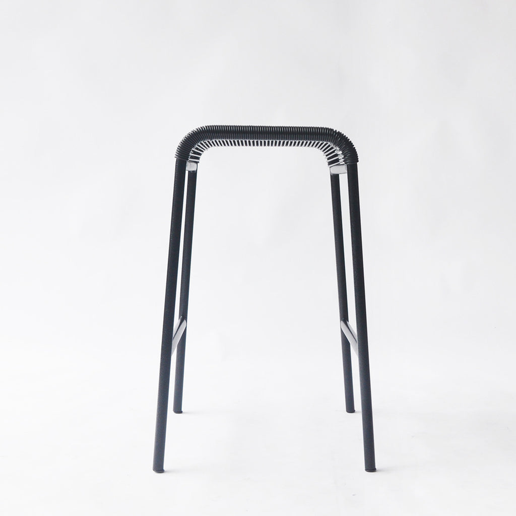 String Stool 02 (Counter Height/Black)