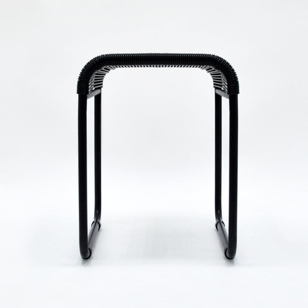 String Stool 03 (Dining Height) (Black 01)