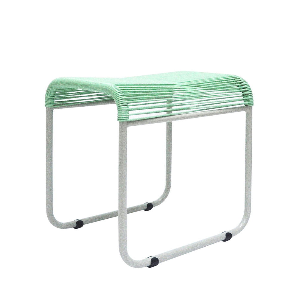 String Stool 03 (Dining Height) (Pastel Green)