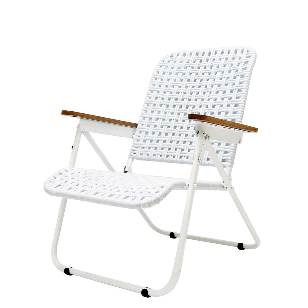 Traveller Chair (Tofu Weave) (Aqua white)