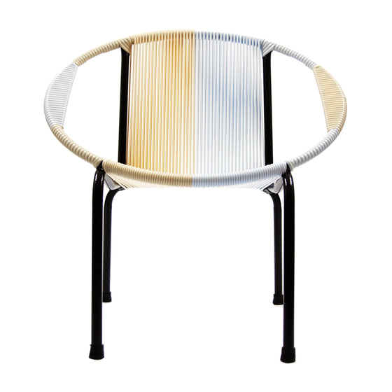 Merdeka Chair Lounge Tropicalia 2019 (Beige + White 01)