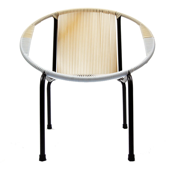 Merdeka Chair Lounge Tropicalia 2019 (Beige + White 02)
