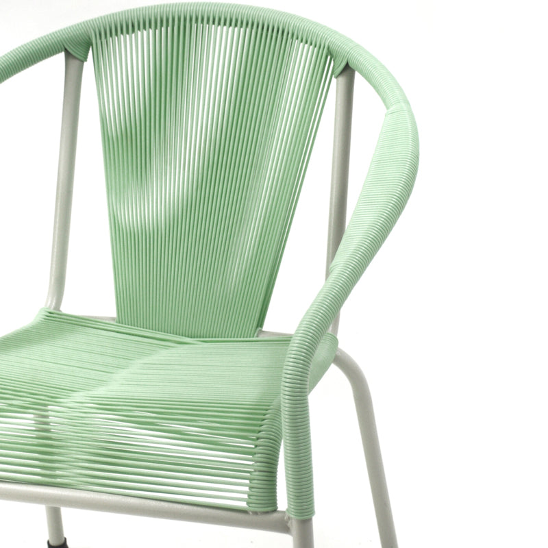 Shell Chair Dining (Pastel Green)