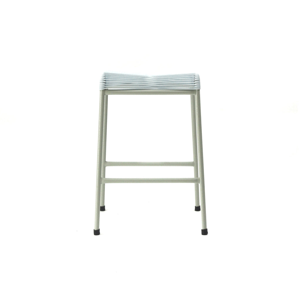 String Stool 02 (Counter Height) (White)