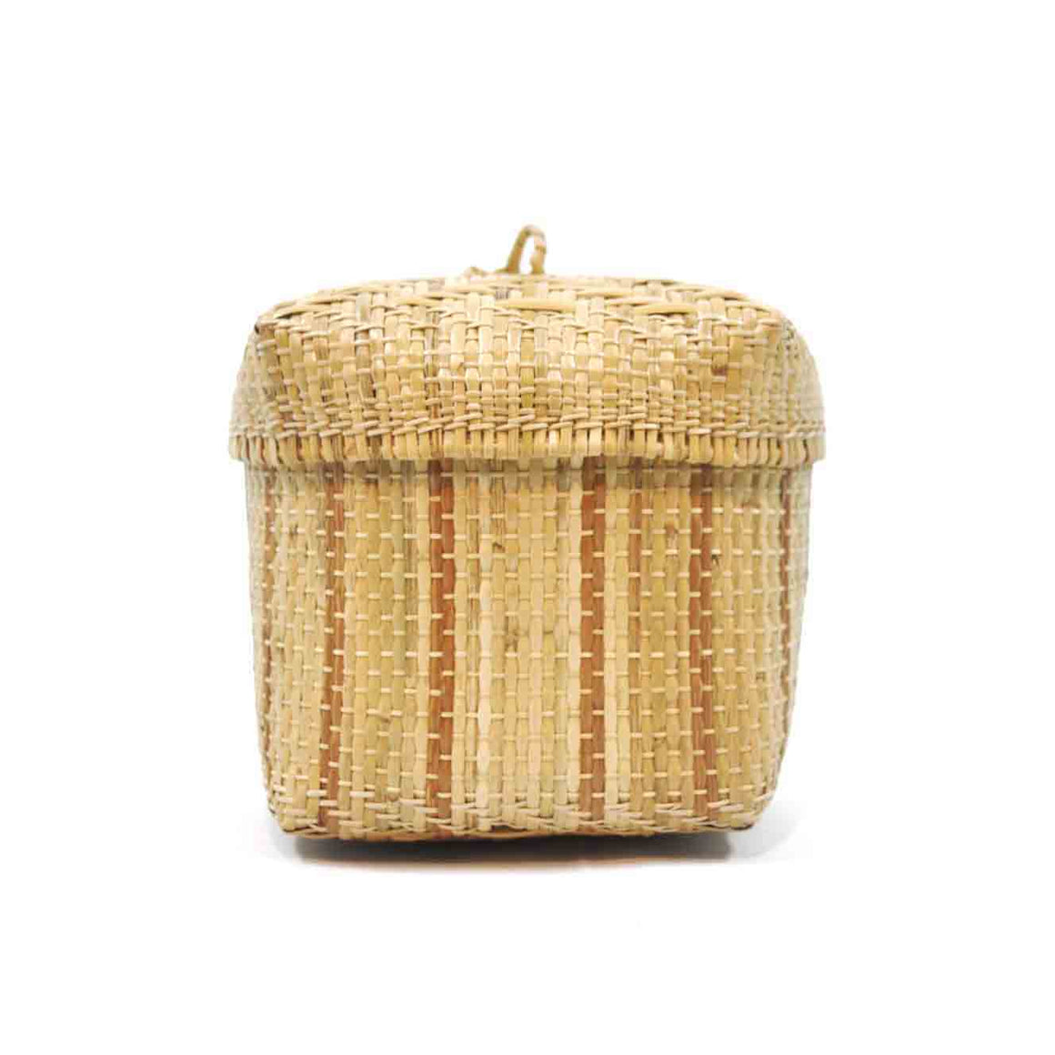 Bidayuh Lidded Storage Basket (Tombok)
