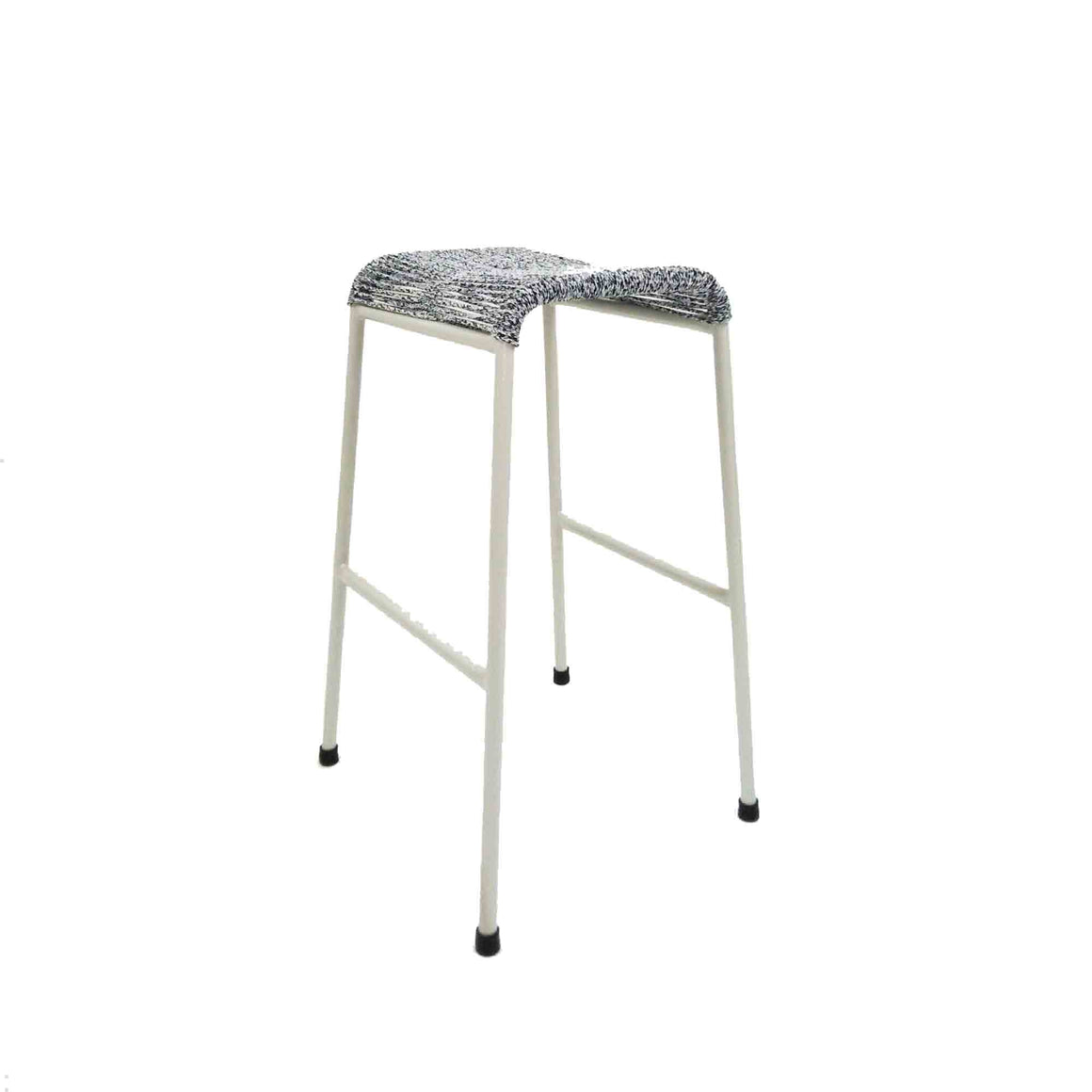 String Stool 01 Bar Height (Greyknit)