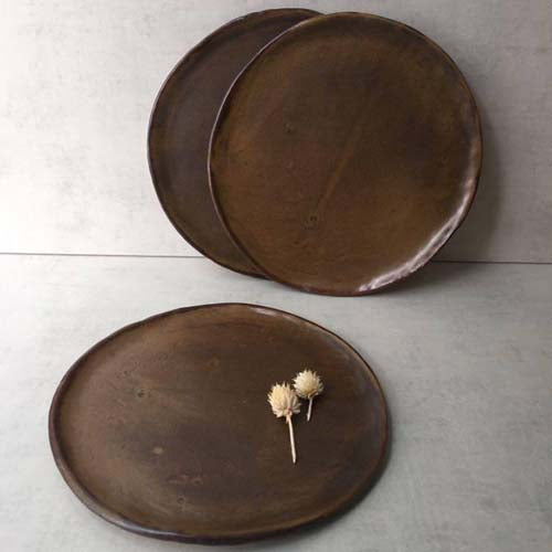 Medium Flat Plate By Stoneworks Ceramics