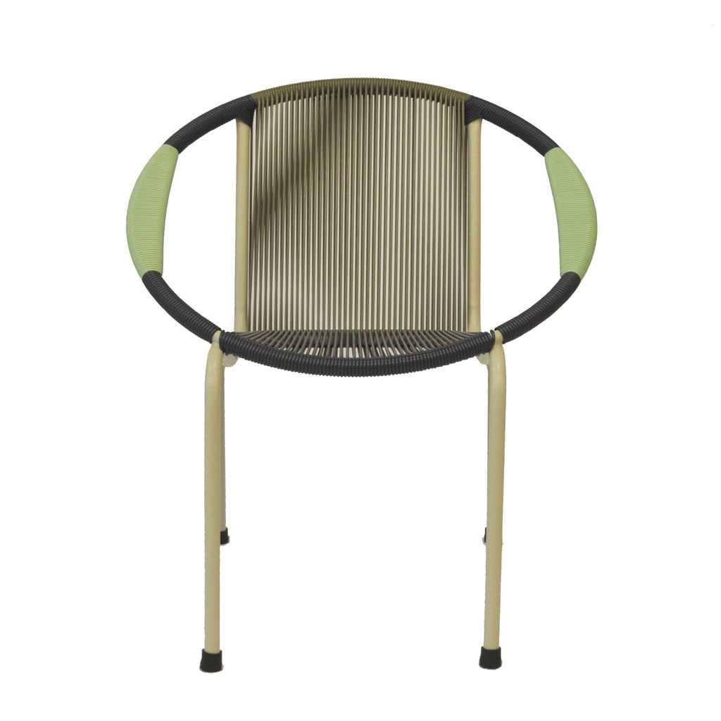 Merdeka Chair Lounge Tropicalia 2020 (Navy Blue + Pastel Green)