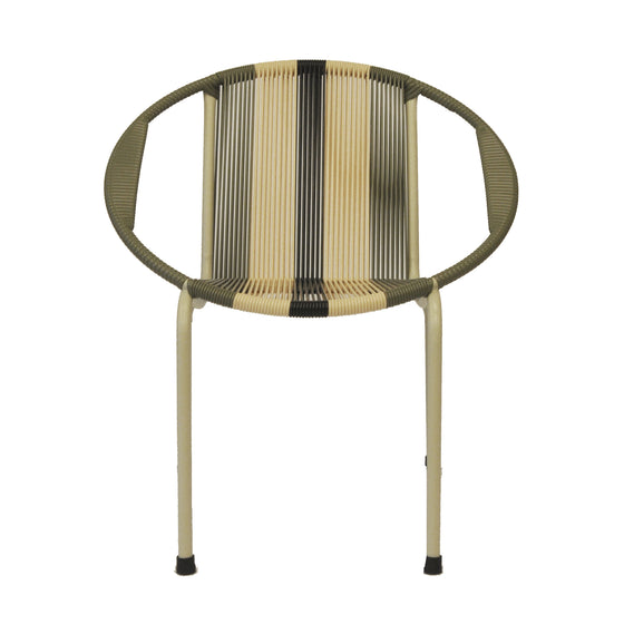 Merdeka Chair Lounge Tropicalia 2020 (Olive Green + Beige 01)