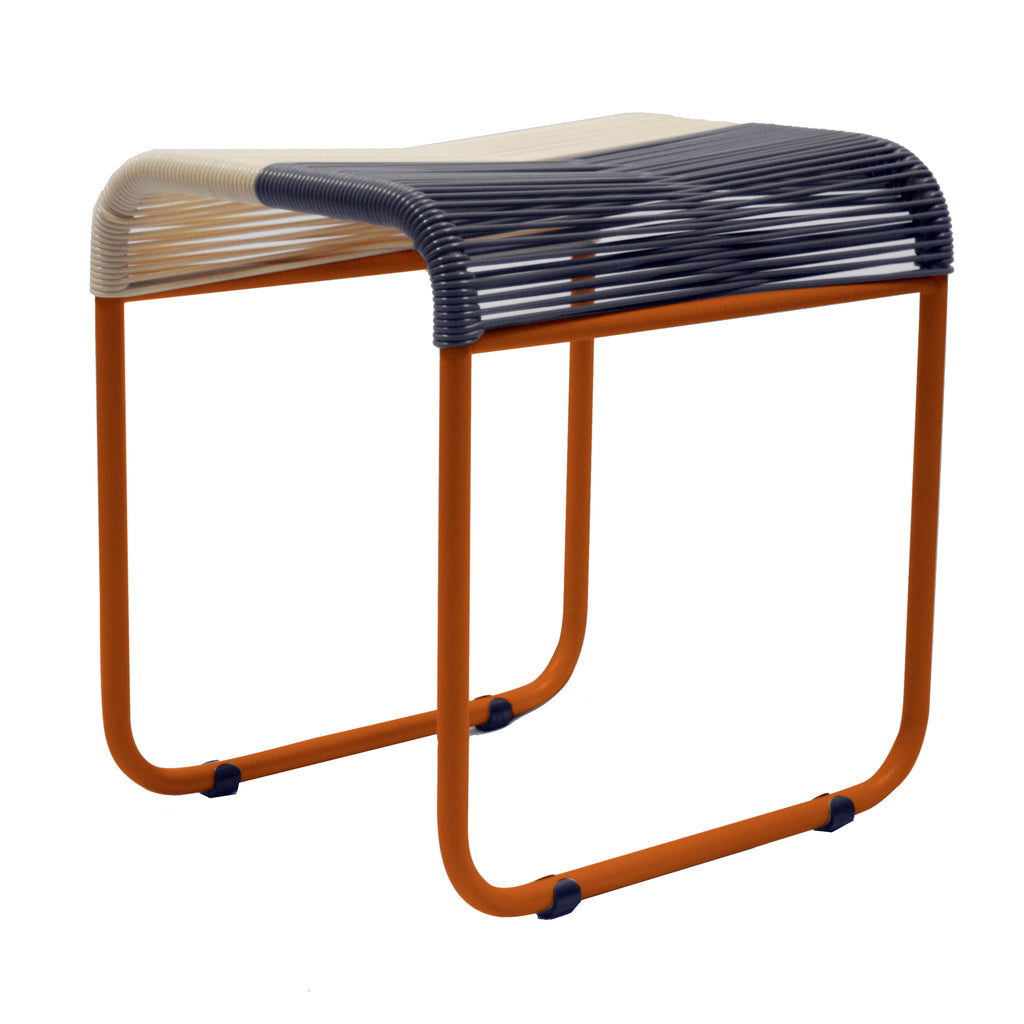 String Stool 03 (Dining Height) (Beige + Grey 02)