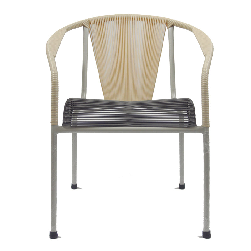 Shell Chair Dining (Beige + Grey 01)
