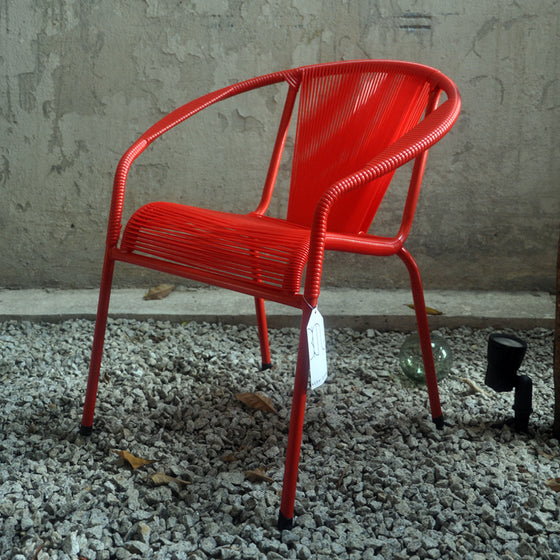 Shell Chair Dining (Red)