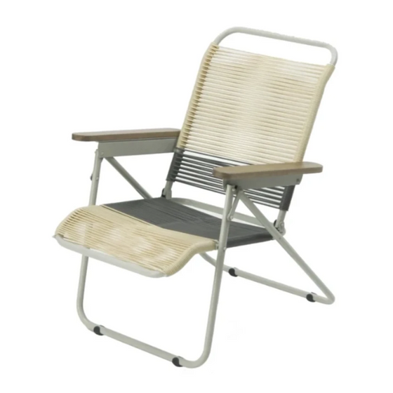 Traveller Chair Tropicalia 2019 (Beige + Grey)