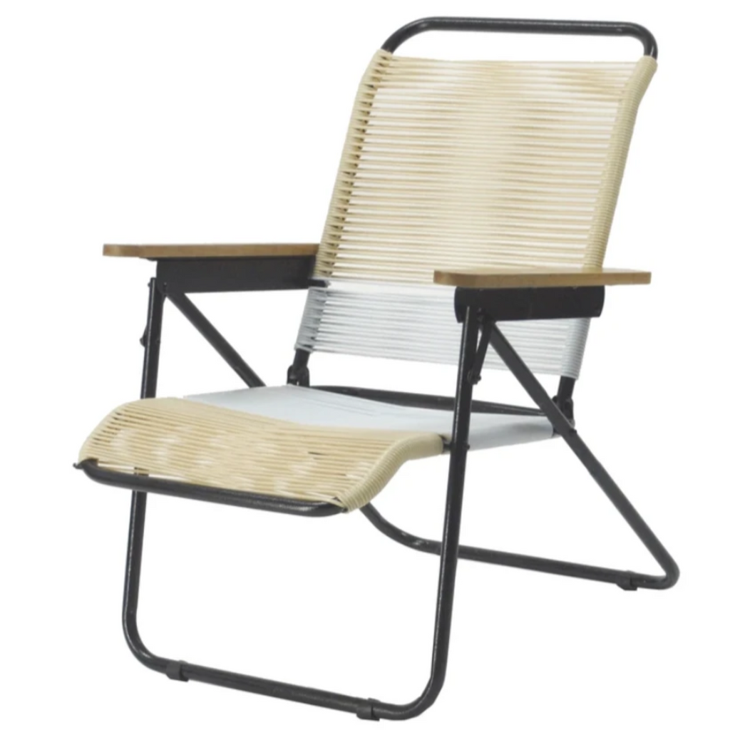Traveller Chair Tropicalia 2019 (Beige + White)