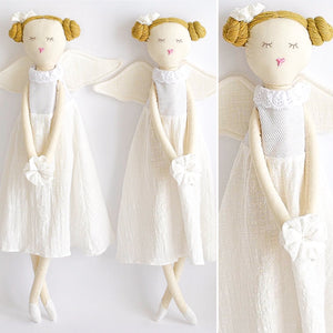 Angel cloth Doll -Handmade cloth dolls - Tianoor