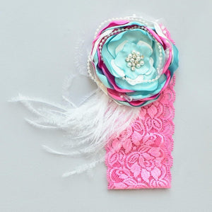 Mint Love Headband