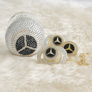 Mercedes Inspired Crystal Baby Gift Set - Tianoor