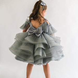 SILVER GLAM DRESS