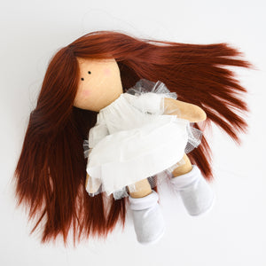 Bebe Doll in White Dress - Tianoor