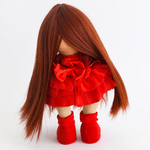 Bebe Doll in Red Dress - Tianoor
