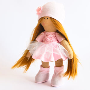 Bebe Doll in Pink Dress