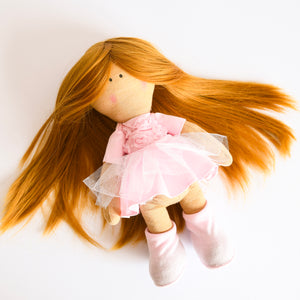 Bebe Doll in Pink Dress - Tianoor