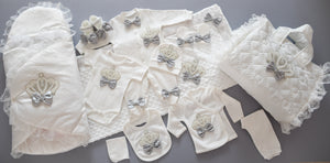 12 Pieces Welcome Home Newborn Baby Boy Set - Tianoor