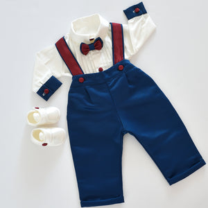 Suspenders Boy Set - Tianoor